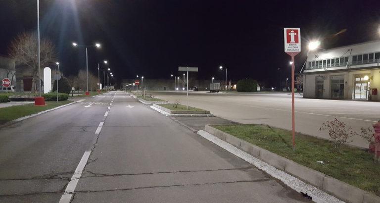 Illuminazione stradale: Centergross 2