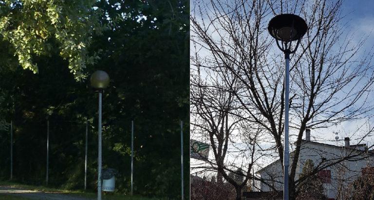 Illuminazione pubblica: Lovoleto 1